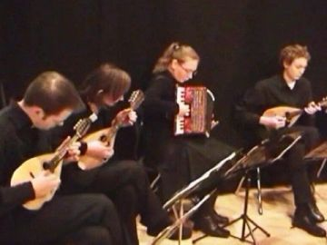 ASTOR PIAZZOLLA - TRISTON Meander Guitar Duo (HD & Stereo)